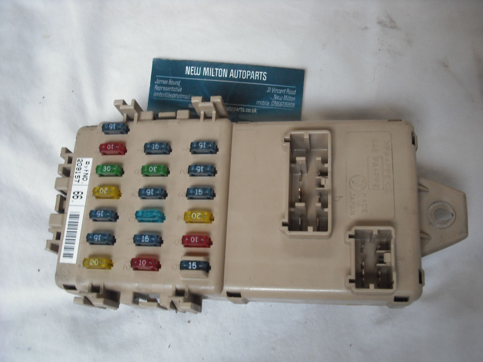 Subaru Legacy Outback Fuse Box Controller Module 209157 Jb200400 Components Gt Passive Fuses Circuit Protection